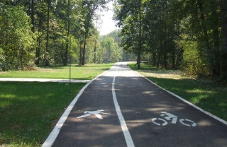 Construction of bicycle paths